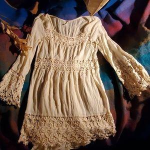 Free people summer crepe dress